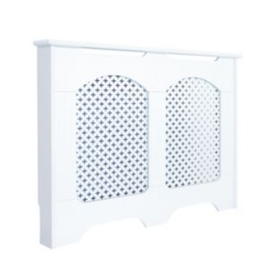 View Small White Cambridge Radiator Cover details
