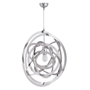 View Asteriod Orbit Chrome Effect Pendant Ceiling Light details