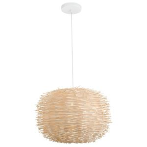 View Colours Norrland 1 Lamp Wood Pendant Ceiling Light details