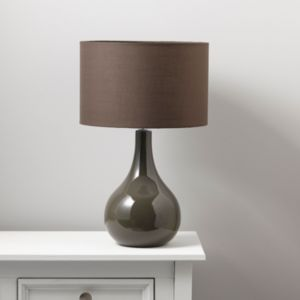 View Portia Chocolate Table Lamp details