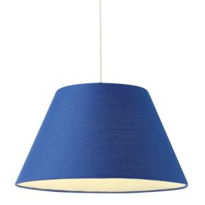 View Colours Eos Navy Tapered Light Shade (D)30.5cm details