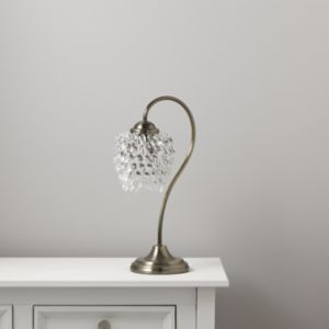 View Acarie Antique Brass Effect Table Lamp details