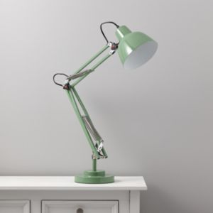 View Isaac Green Desk Lamp details