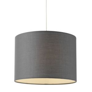 View Colours Fairbank Anthracite Drum Light Shade details