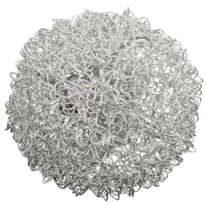 View Electro Wire Ball Chrome Effect Single Wall Light details