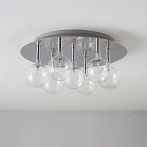 View Cluster Chrome Effect 7 Lamp Ceiling Light details
