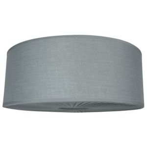View Colours Reid Grey Drum Light Shade (D)46cm details