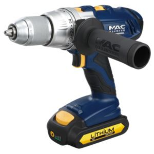 View Mac Allister Cordless 18V Li-Ion Combi Drill Batteries Sold Separately details