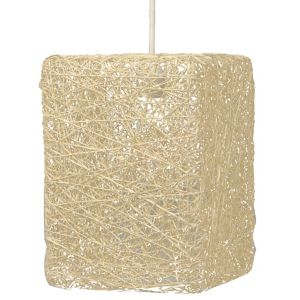 Image of Abaca Beige Twine Light shade (D)177mm