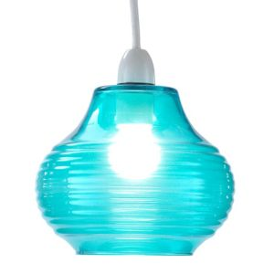 View Lights By B&Q Charisma Turquoise Light Shade details