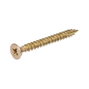 Image of TurboGold Carbon Steel Woodscrews Trade Grab Pack Pack of 1000