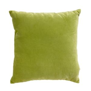 View Colours Theleme Velvet Lime Blossom Cushion details