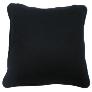 View Zen Plain Black Cushion details
