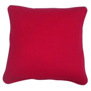 View Zen Plain Strawberry Red Cushion details