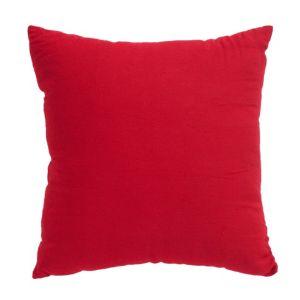 Image of Plain Strawberry Red Cushion