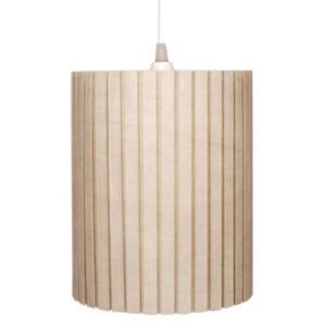 View Colours Fairbourne Beige Pleated Light Shade details