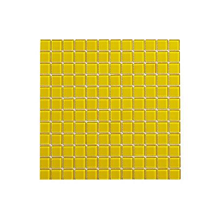 yellow mosaic glass mosaic tile l 300mm w 300mm. Black Bedroom Furniture Sets. Home Design Ideas