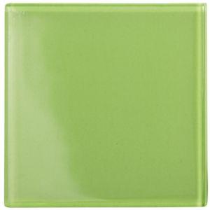 B&Q/Home Interiors/Bathroom/Lime Glass Wall Tile  (L)98mm (W)98mm