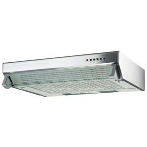 View Cooke & Lewis CLVH60SS-C Integrated Visor Cooker Hood, Stainless Steel details