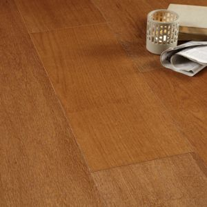 View Colours Jazzy Smoked Oak Real Wood Top Layer Flooring 1.58 m² Pack details