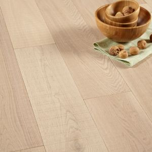 View Colours Ocarina White Solid Oak Flooring 1.08 m² Pack details