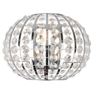 View Colours Galeo Chrome Effect 1 Lamp Golf Ball Single Wall Light details