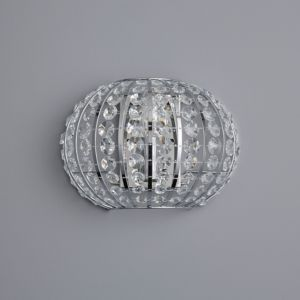 View Galeo Chrome Effect Single Wall Light details