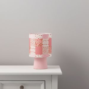View Ferretti Patchwork Pink Table Lamp details