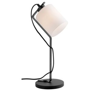 View Nerville Black & White Table Lamp details