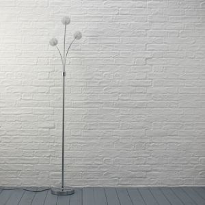 View Pallas Chrome Effect Floor Lamp details
