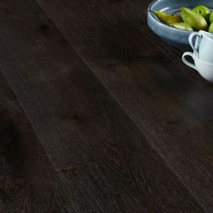 View Colours Jazzy Coffee Oak Real Wood Top Layer Flooring 1.64 m² Pack details