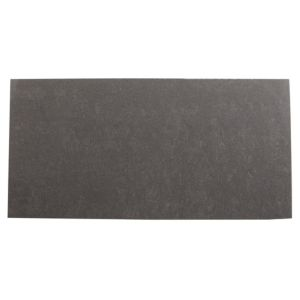 View Graphite Black Gloss Plain Porcelain Wall & Floor Tile, Pack of 8, (L)600mm (W)300mm details