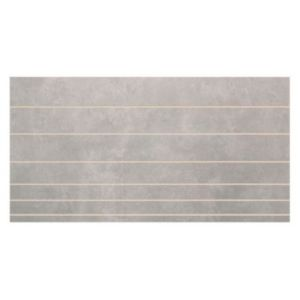 View Enviro Platinum Effect Scored Ceramic Wall Tile, Pack of 6, (L)400mm (W)200mm details