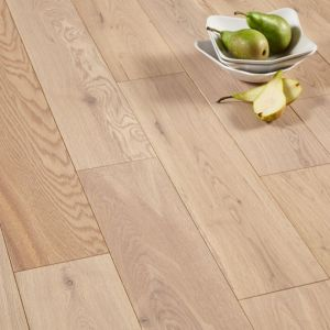 View Colours Symphonia White Solid Oak Flooring 1 .01 m² Pack details