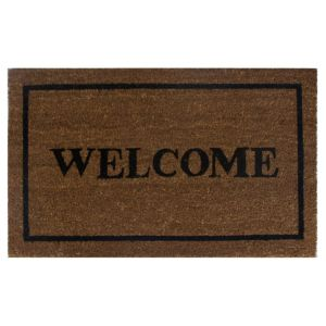 View Diall Black Coir Door Mat (L)450mm (W)750mm details