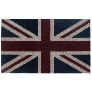 View Colours Blue & Red Union Jack Coir Door Mat (L)450mm (W)750mm details