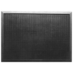 View B&Q Value Black Rubber Door Mat (L)450mm (W)750mm details