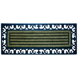 View Diall Black Coir Door Mat (L)450mm (W)1.2mm details