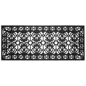 View Diall Black Rubber Door Mat (L)450mm (W)1.2mm details