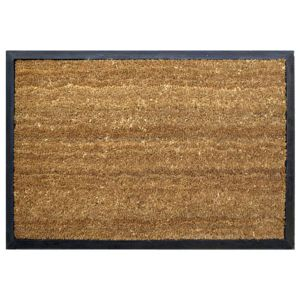 View Diall Black Coir Door Mat (L)450mm (W)650mm details