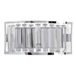 View Dione Chrome Effect Single Wall Light details