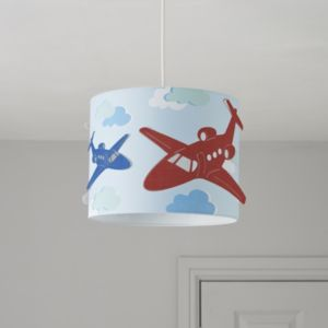 View Colours Revolutio Blue Airplane Light Shade details