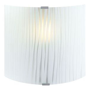 View Zebra Stripe Frosted Effect Wall Light details