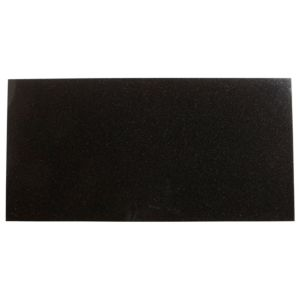 View Black Granite Wall & Floor Tile, Pack of 5, (L)610mm (W)305mm details