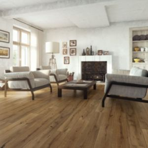 View Colours Sotto Caramel Oak Real Wood Top Layer Flooring 1.37m² Pack details