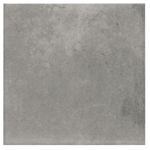 View Colours 1930S Grey Porcelain Wall & Floor Tile, Pack of 25 (L)200mm (W)200mm details