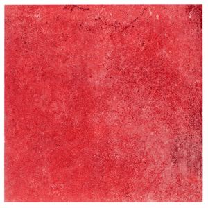 View 1930S Red Glazed Porcelain Wall & Floor Tile, Pack of 25, (L)200mm (W)200mm details