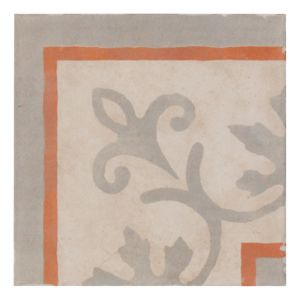 View 1930S Red Mosaic Glazed Porcelain Wall & Floor Tile, Pack of 4, (L)200mm (W)200mm details