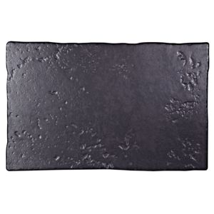 View Abbeye Black Porcelain Floor Tile, Pack of 8, (L)500mm (W)330mm details