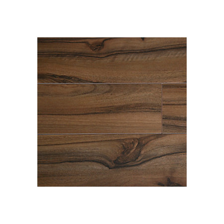 Scherzo natural dark walnut effect laminate flooring for B q laminate flooring